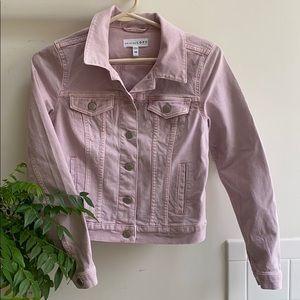 Loft Lilac/Blush Denim Jacket